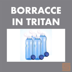 Borracce in Tritan